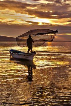 Apollonia Lake by Ahmet Utgan