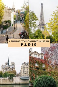 Paris, France is full of countless things to do, making it hard to narrow down your itinerary. Here are 8 things you cannot miss when visiting, including the best places to eat, drink, and see!