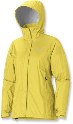 Having owned and used the Marmot Precip rain jacket for a long time it is well worth its weight and it's price at only $69. - AK