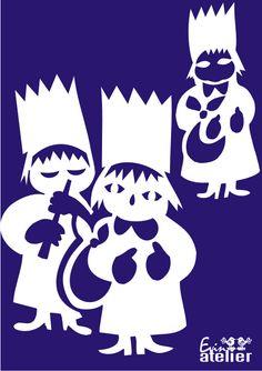 3 králové - vystřihovánka