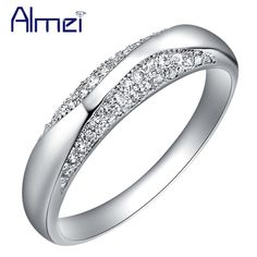 Find More Rings Information about Rings for Women Wedding Ring Sterling Silver Anel Feminino CZ Diamond Jewelry Austrian Crystal Anillos Christmas Gift Bague J209,High Quality jewelry bust,China jewelry ring Suppliers, Cheap jewelry cube from Almei Jewelry Store on Aliexpress.com