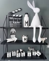 Image result for boys nursery wall be cool black and white