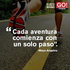 Maya Angelou. #gofitness #clasesgo #ejercicio #gym #fit #fuerza #flexibilidad #reto #motivate
