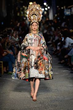 Dolce & Gabbana Winter 2016. Illustrated fashion on Artluxe Designs. #artluxedesigns