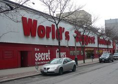 Worlds Biggest Bookstore Closing in February. I was expecting this but am still saddened by the news. Toronto Ontario Canada, Toronto City, Canadian Things, Canadian History, World's Biggest, Night Life, February, Chicago Lake, Real Estates