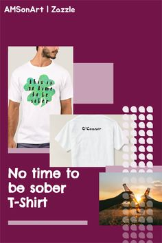 Father's Day t-shirt Designed by AMSonArt This is no time to be sober four leaf clover T-Shirt £22.40 Men's Basic T-Shirt Comfortable, casual and loose fitting, our heavyweight t-shirt will easily become a closet staple. Made from 100% cotton, it's unisex and wears well on anyone and everyone. We've double-needle stitched the bottom and sleeve hems for extra durability. #giftfordad #fathersdaygift #giftideafordad Thoughtful Gifts For Him, Gifts For Dad, Four Leaves, Father's Day T Shirts, Four Leaf Clover, Sober, Things To Buy, Cool Gifts, Fitness Models