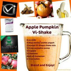 Apple Pumpkin Vi-Shake  www.michellegallant1117.myvi.net
