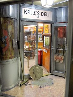 """Katz' Deli by Alan Wolfson. """"Incredible detailing, the kind which really immerses the viewer!"""" John S."""
