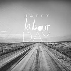 Happy Labout Day - Feliz día del trabajador.
