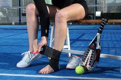 Vendaje elástico de tobillo con cierre de micro-velcro. #ortopedia #deportes