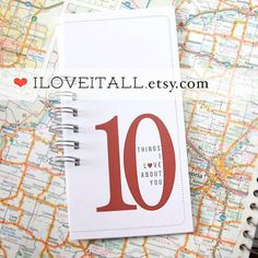 10 Things I Love About You | iloveitall.etsy.com