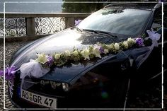 Wedding Car Flower Arrangement