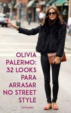 Quer arrasar no street style? Aprenda com a realeza. Sim, para nós, Olivia Palermo é a rainha do street style no Pinterest, e nós temos provas disso!