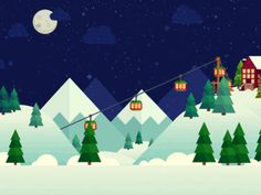 Christmas Opener by Helen Yomi - Dribbble