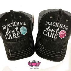 Beach Hair Trucker Hat