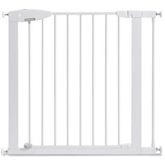 Buy Munchkin Easy Close Metal Baby Gate, White, Model with big discount! Get Munchkin Easy Close Metal Baby Gate, White, Model with worldwide shipping now! Baby Gate With Door, Metal Baby Gate, Baby Gate For Stairs, Stair Gate, Stair Treads, Cheap Baby Gates, Best Baby Gates, Kids Gate, Stair Railing Design