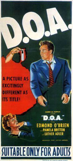 D.O.A.  (1950 - Rudolph Maté)