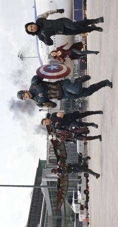 #TeamCap always. Captain America civil war. Captain America. Steve Rogers. Winter Soldier. Bucky Barnes. Scarlet Witch. Wanda Maximoff. Hawkeye. Clint Barton. Ant Man. Scott Lang. Falcon. Sam Wilson. Avengers. Marvel.
