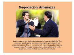 Negociación amenazas Teamwork, Tips
