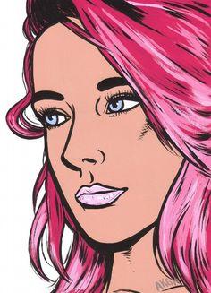#popart #pink