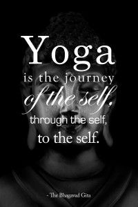 Yoga is a Journey - Michelle Cross