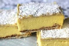 Custard Vanilla Slice