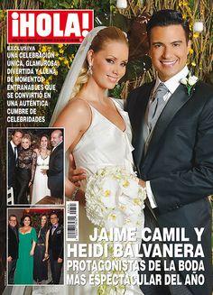 En ¡HOLA!: Jaime Camil y Heidi Balvanera, protagonistas de la boda más espectacular del año