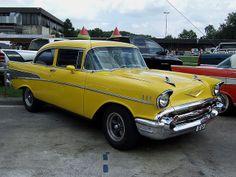 1957 Chevrolet Bel Air 2-Door_Sedan
