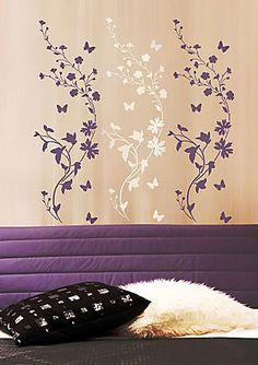 flower-border stencil