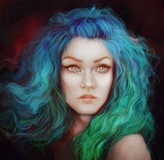 Mermaid by LoranDeSore.deviantart.com on @deviantART