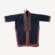 kids red dao tunic vietnam