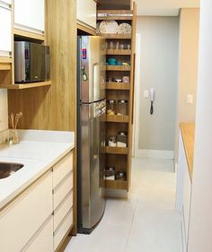 #dicadodia {HI}  Para que tem pouco espaço na cozinha olha que legal o armário ao lado da geladeira. Amei@pontodecor Snap:  hi.homeidea  http://ift.tt/23aANCi           @pretagil @loracarola @gentilfernanda @anamaria16 @sophiecharlotte1 @brumarquezine @marixioficial @isisvalverde @gilancellotti @ticipinheiro @cleopires_oficial @otacosta @araujoviviane @ahickmann @lucianohuck @pefabiodemelo @sandyoficial @fbbreal @eliana @gisele @hugogloss @julianapaes @camilaqueiroz @taisdeverdade…