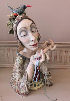 New Work - gretel boose - ceramic and mixed-media art Gretel Boose Ontario, Canada