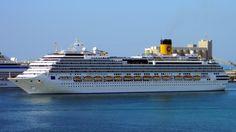 Costa Favolosa. Ιδιοκτησία: Carnival Corporation & plc. Διαχείριση: Costa Crociere. Παρθενικό ταξίδι 04/07/2011. 113.216GT ~ 290 μ.μ. ~ 40 μ.πλάτος ~ 13 κατ/τα ~ 22~25,5knots ~ 3.780 επ.~ 1.110 α.πλ.