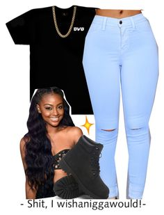 """""""."""" by independentbxtchesonly ❤ liked on Polyvore featuring October's Very Own and Timberland"""