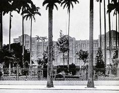 Title: Main building of Lafayette Institute. Rio de Janeiro, 1941.<br /> <br /> Prédio principal do Instituto Lafayette, recém-inaugurado à época. Rio de Janeiro, 1941.
