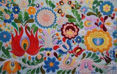 an other old Matyo embroidery!