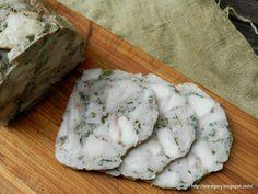 Rolada drobiowo - wieprzowa na zimno | Stare Gary Camembert Cheese, Easy Meals, Dairy, Food And Drink, Menu, Fit, Fine Dining, Menu Board Design, Shape