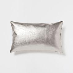 SHINY SILVER CUSHION - Cushions - Decoration | Zara Home United Kingdom