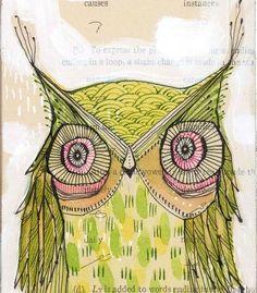Owl by Cori Dantini.