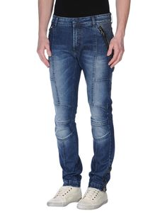 Pierre Balmain Coated Blue Moto jeans W29 L31