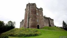 Doune Castle in Scotland- their are many castles still remaining from the olden times