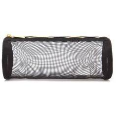 Forever 21 Mesh Makeup Pouch (€5,22) ❤ liked on Polyvore featuring beauty products, beauty accessories, bags & cases and forever 21