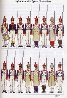 French infantry of the line