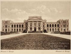 :: Arquivo Público do Estado de São Paulo :: Museu do Ipiranga sem as Fontes