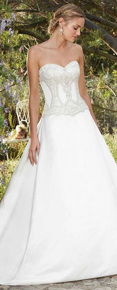 72c409ef3cd Style 2278 Daylily Candlelight Ivory Ivory Silver. Wedding WowsShort Wedding  GownsBeautiful ...