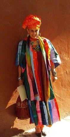 Senegal Beyfal dress