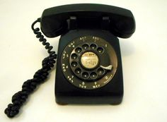 Western Electric 500 Vintage Desk Telephone by nanascottagehouse $79.99 This was the most popular phone in the 1950s. Considered quite high tech. These are very heavy and were often the murder weapon in the old black and white mystery movies.