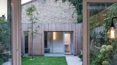Background: Arefurbishment and extension of a Victorian semi-detached house in West London. The intention was to form a connection between the old and the new, to juxtapose the Victorian craftsmanship and love for intricate. Victorian Buildings, Victorian Homes, Creative Architecture, Amazing Architecture, West London, Architects Journal, Victorian Living Room, Road Pictures, Narrow House
