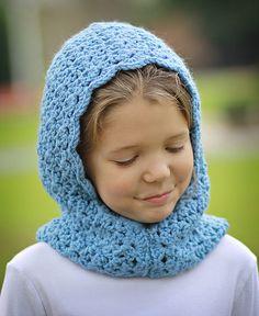 Crochet Toddler Child Tween Preteen Adult Hooded Cowl by 4R3Kids, $16.00